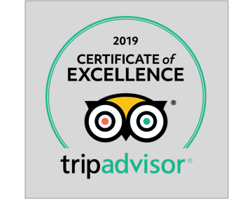 Trip Advisor Excellence 2019 Badge